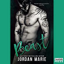 Beast: Learning to Breathe (Devil's Blaze MC Duet, Book 1) Audiobook by Jordan Marie Narrated by Maxine Mitchell, Joe Arden