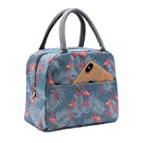 Mziart Insulated Lunch Bag for Women Men, Reusable Lunch Tote Lunch Box Organizer