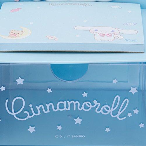 Cinnamoroll Desktop Chest With Memo Pad: Blue by SANRIO (Image #4)