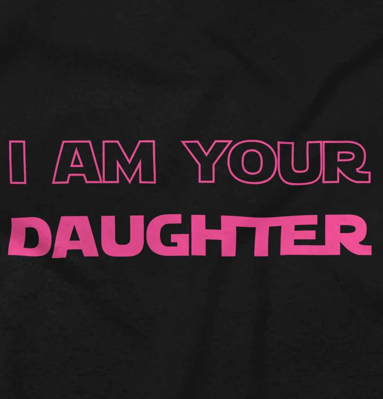I Am Your Daughter Cute Darth Vader Star Wars Yoda Romper Bodysuit by Brisco Brands (Image #2)
