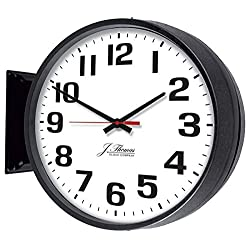 Jefferson Dual Sided 13 Atomic Clock by J. Thomas - Made in the USA !