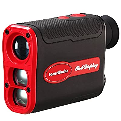 LaserWorks LW800PRO Laser Rangefinder- Automatic Brightness Adjustment Red Illuminated Display Visible Day & Night from Shenzhen Rui Er Xing Electronics Co., Ltd.