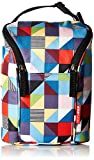 Skip Hop Grab-and-Go Insulated Double Bottle Bag, Prism