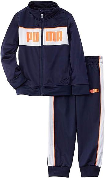 PUMA Little Boys Cell Short Vibrant Orange 2T
