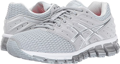 Quantum Lighter (ASICS Women's Gel-Quantum 180 2 Running-Shoes, Mid Grey/White/Silver, 9.5 Medium US)
