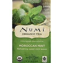 Moroccan Mint Tea by Numi Organic Tea - 18 tea bags