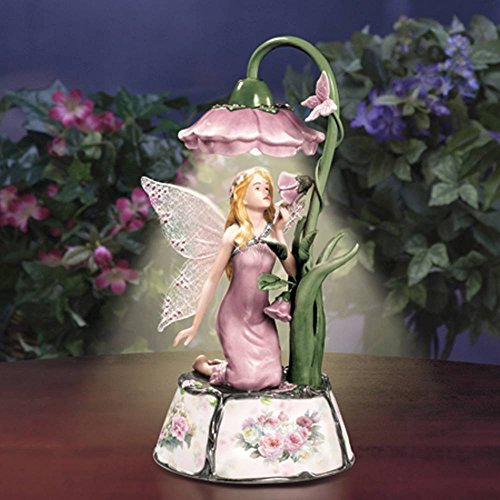 Retired Lena Liu *Pink Beauty* Musical Lighted Lamp Beauty Collectible Musical Doll