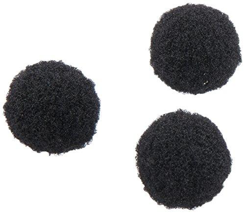 Darice 100 Piece Acrylic 2 Inch Black