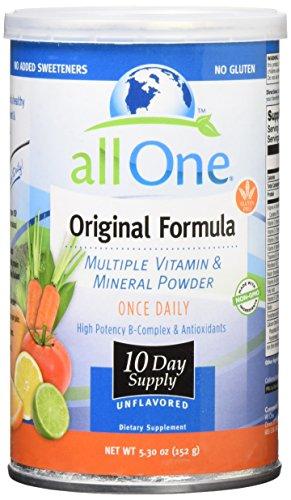 All One Formula Original Powder - All One Original Formula 10 Day Supply Powder, 12 Count