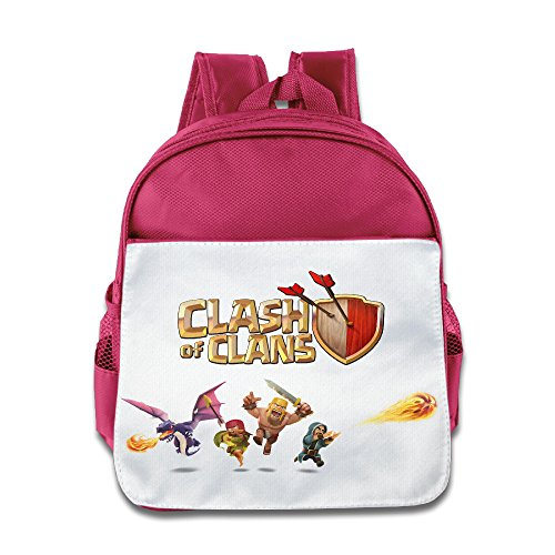 Ysov Supercell Clans Toddler Kid Pre School Backpack Pink