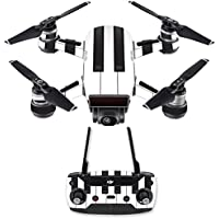 Skin for DJI Spark Mini Drone Combo - Piano Keys| MightySkins Protective, Durable, and Unique Vinyl Decal wrap cover | Easy To Apply, Remove, and Change Styles | Made in the USA