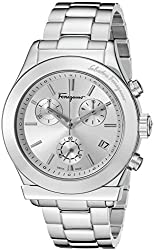 Salvatore Ferragamo Men's FF3860015 FERRAGAMO 1898 Stainless Steel Watch