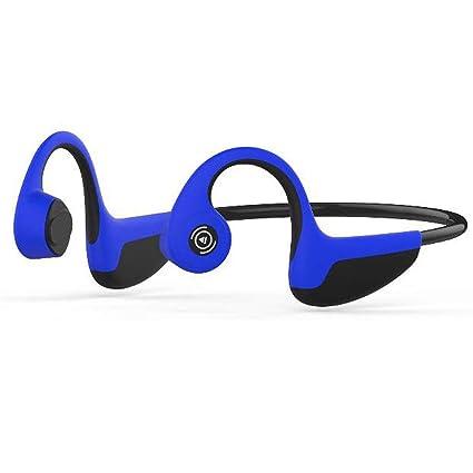 Yhongyang Conducción Inteligente De Hueso Inalámbrico Bluetooth Auriculares Deportes Auriculares Impermeables Cascos Guiados Natación Ciclismo Running