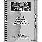 Mitsubishi Satoh Buck Beaver Diesel III S373 S470 S470 Tractor Service Manual
