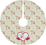 RNK Shops Mouse Love Tree Skirt (Personalized)