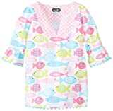 Mud Pie Baby Girls' Fish Cover Up, Multi, 12 18 Months