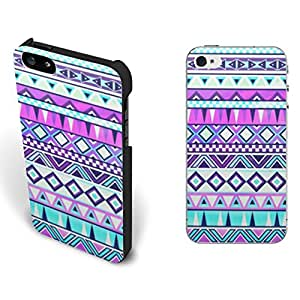 Retro Tribal Iphone 5 5s Case Chevron Geometric Triangle Patterns Aztec Design Plastic Case Cover Hybird Color