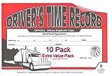 JJ Keller 8529 (691L) Driver's Exemption Log - Short-Haul Operations - Pack of 10