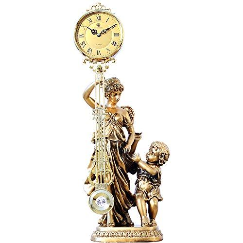 Table Clock Estilo Europeo, Sala de Estar, Relojes Antiguos, Reloj basculante, Arte