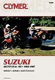 Suzuki ALT/LT125 and 185, 1983-1987, Clymer Publications Staff and Penton Staff, 0892875232
