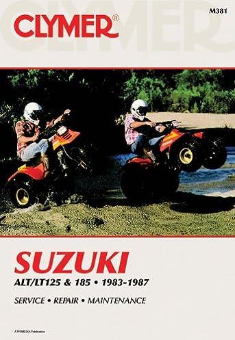 suzuki alt lt125 185 83 87 clymer manuals motorcycle repair rh amazon com 1984 Suzuki LT230 ATV 1984 Suzuki LT230 ATV