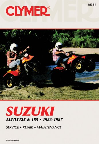 Suzuki Alt/LT125 & 185 83-87 (Clymer Manuals: Motorcycle Repair)