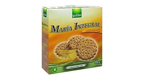 Gullón - María Integral - Galletas María Integral - 3 X 200 g: Amazon.es: Alimentación y bebidas