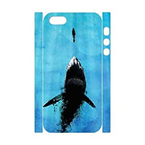 ALICASE Diy Customized Case Shark 3D Case for iPhone 5,5S [Pattern-6]