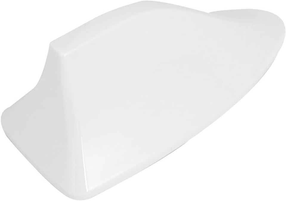 sourcingmap Laileron requin en plastique blanc adh/ésif Style antenne base 16cm longueur pour RAV4