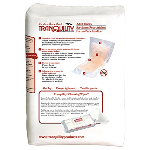 Tranquility Adult Incontinence Liners - 120 ct by Tranquility (Image #2)