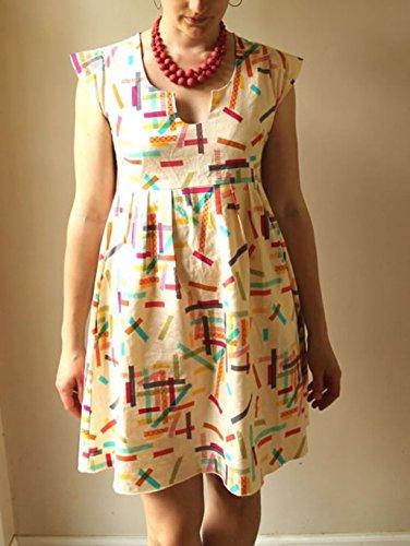 Made By Rae Ladies Sewing Pattern Washi Dress