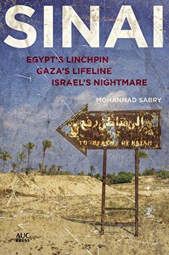 Sinai: Egypt's Linchpin, Gaza's Lifeline, Israel's Nightmare (Map Gaza Strip Israel)