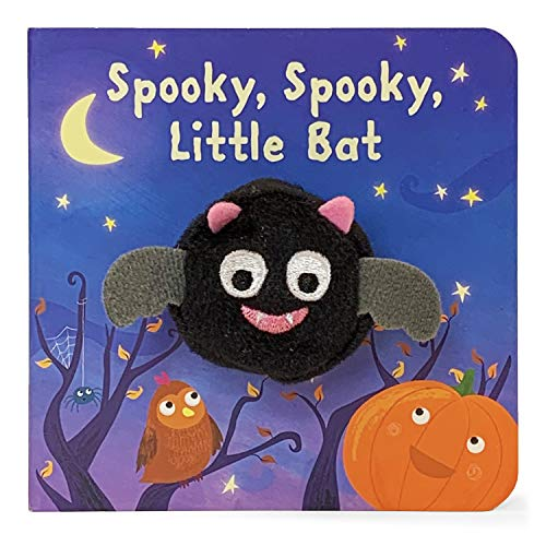Spooky, Spooky Little Bat (Finger Puppet Books)