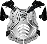 Fly Racing Polisport Fly Racing Convertible II Protective Junior Gear , Size Segment: Youth, Distinct Name: Clear/Silver, Size Modifier: 80-150lbs, Primary Color: Clear, Size: OSFM, Gender: Boys