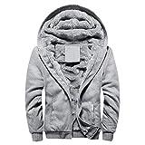 Gillberry Hoodie Winter Warm Fleece Sweater Jacket Outwear Coat with Zipper