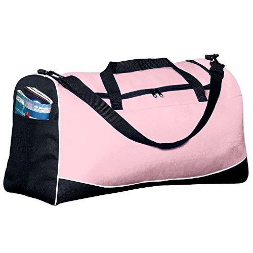 Large Tri-Color Sport Bag - Pink (Color Sport Bag Tri)