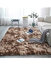 Leesentec Area Rugs Soft Shaggy Comfy and Fluffy Rug for Bedroom Living Room Nursery Modern Carpet Anti-Skid Rugs Home Decor Area Rug
