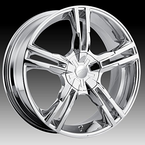 Pacer Ideal 18 Chrome Wheel / Rim 5x4.5 & 5x120 with a 42mm Offset and a 74.1 Hub Bore. Partnumber 786C-8807