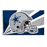 NFL Dallas Cowboys 3-by-5 Foot Helmet Flag