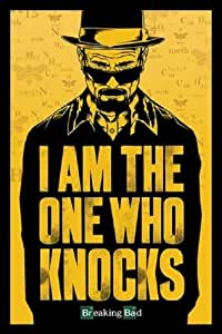 (24x36) Breaking Bad - I am the one who knocks Poster