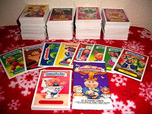 Garbage Pail Stickers (2013 GARBAGE PAIL KIDS BRAND NEW SERIES 3 {BNS3} LOT OF THIRTY DIFFERENT STICKERS + 2 CEREAL KILLER STICKERS. by Garbage Pail Kids)