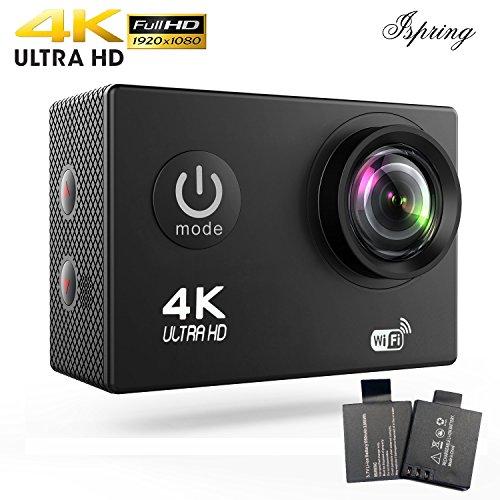 1080p H.264 30fps Full HD Waterproof Wi-Fi Sports Camera (Black) - 1