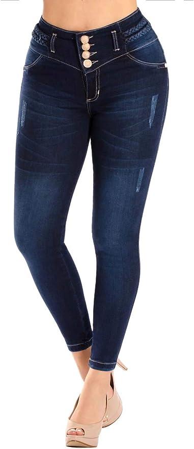 Amazon Com Verox Jeans Pantalones Colombianos Levanta Cola Colombiano Jeans Levantacola 3220 Custom Clothing