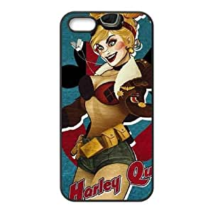 Harley Quinn iPhone 4 4s Cell Phone Case Black&Phone Accessory STC_175594