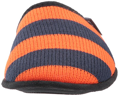 Muk Luks Mens Game Day Scuffs-orange Slipper Orange