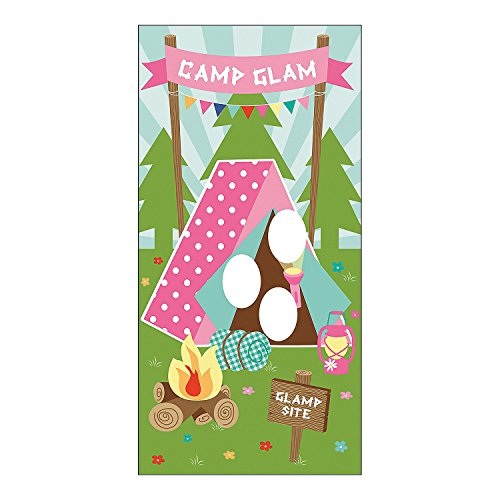 Vinyl Camp Glam Door Banner made our CampingForFoodies hand-selected list of 100+ Camping Stocking Stuffers For RV And Tent Campers!