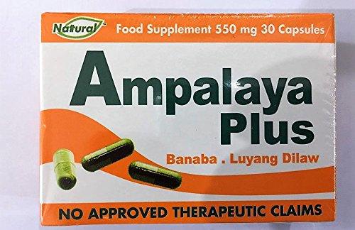 Ampalaya Plus Banaba~ Luyang Dilaw (30 Caps)