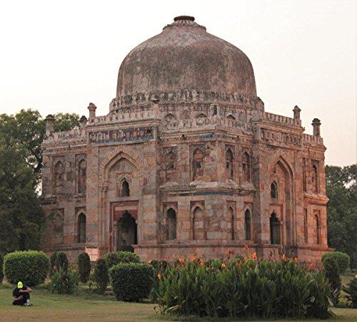 Laminated 26x24 Poster Shish Gumbad, Lodhi Gardens, Delhi -