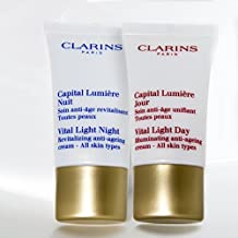 Clarins Vital Light Day + Night 0.5 Oz Each. Perfect Duo