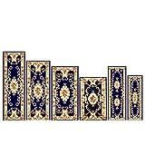 Area Rugs carpet blanket for bedroom rectangle blanket beside the bed blanket for bedside bay window-E 100x200cm(39x79inch)